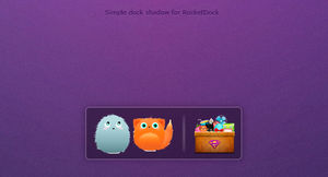Simple dock shadow by MeryDev