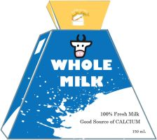 Milk packaging (Design3-front) by faintedstarcloud