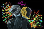 Daft Punk Desktop by vythefirst