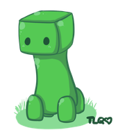 MC:  Cutie Lil Creeper by TheLonelyQueen