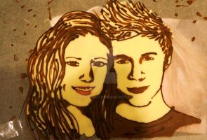 Chocolate - my mate and Niall Horan by Sydney0007