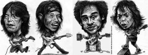 The Great Musicians Of Indonesia by IborArt