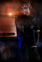 Come on! (Mass Effect) by SallibyG-Ray