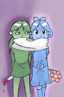 Sharing a Scarf With My New Friend by WonderTroll