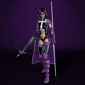 DC Universe Online Huntress UPDATED by ArmachamCorp