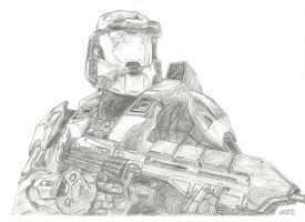 Master Chief by CptMaximum9001