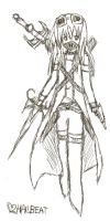 Assassin Sketch by Hailbeat