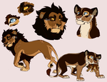 Nova's Parents Doodles by Mikaces