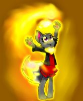 Playing with the REAL power of fire! by Chantylii