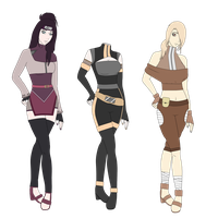 Naruto Adoptables batch #10 CLOSED by SicklySatisfied