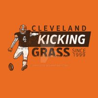 Kicking Grass by Griggitee