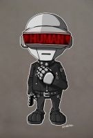 Daft Punk by B-E-Z-A
