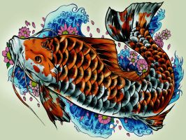carpa tatto by adagadegelo