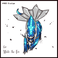 REQUEST: Dialga for Minto by Frog-of-Rock
