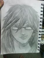 Grell Sutcliff Realistic by ProblemChild55