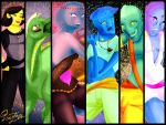 Characters wallpaper by princesszelee