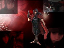 Vincent Valentine Wallpaper 2 by The-Reborn-Shadow