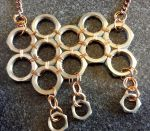 Wire Wrapped Nut Raincloud by Cego-Colher