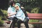 It's gonna be a cold night (Yato x Yukine) by Ellieeh