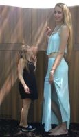super tall girl compare by lowerrider