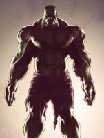 The Hulk colored by PatC-14