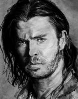 Snow White and the Huntsman - Chris Hemsworth by Catluckey