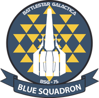 Battlestar Galactica RDM Blue Squadron Patch by talos56