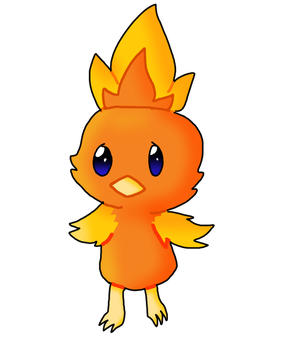 Torchic by king-cupcakes