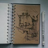 Instaart - Buildings by Candra