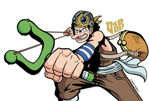 Meet Usopp by TheSteveYurko