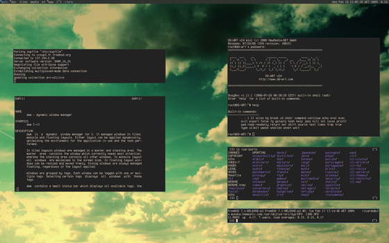 In the clouds with FreeBSD and by tangramm