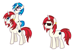 Vinyl's Brother (from the comics) by TheCheeseburger