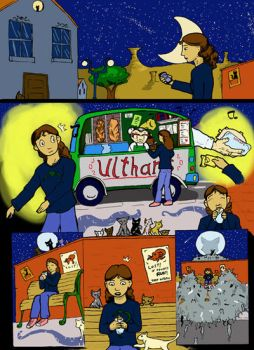 Comic page by uximata