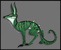 Adopt an Original Creature - SOLD by Artha-Demon
