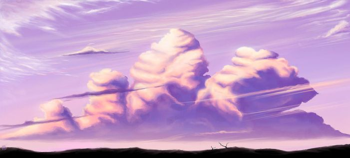 marshmallow clouds by OlgaBathory