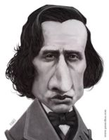 Frederic Chopin by pxmolina