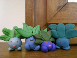 Oddish's by Foureyedalien