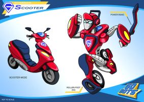Scooter redux by PWThomas