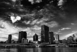 Brisbane, with love by LPeregrinus