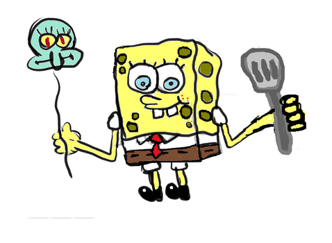 Spongebob Completed!! by ASPROULIS123