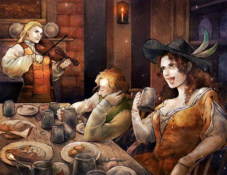 the Tavern by jurithedreamer