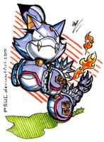 BLAZE THE CATerkiller by PsuC