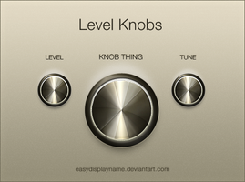 Level Knob by easydisplayname
