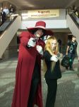 Alucard and Sir Integra (Youmacon 2011) by ASmilingMalice-on-DA