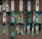 ROBIN SKATEBOARD DECK process 01 by ztenzila