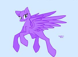 pony special base 1: flying pegasus by SapphireScarleteShop
