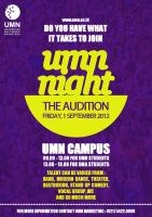 UMN Night : The Auditions by GraPHriX