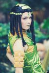 Ermes Costello All Star Battle Cosplay by SNTP