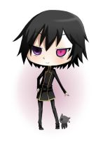 Lelouch and Arthur chibi by red-X-snow