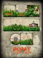 Popay CD Cover by 3kolor